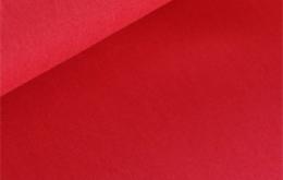 Coton uni rouge foncé