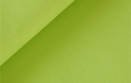 Coton uni vert lime