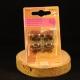Attache magnétique à rivets or antique