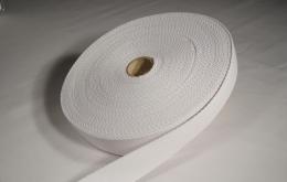Sangle coton 30mm blanc