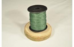 Cordon aspect cuir vert foncé