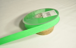Biais replié fluo vert