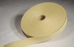 Sangle coton 30mm beige