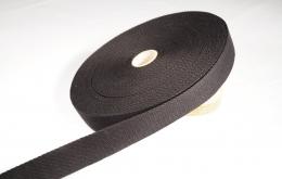 Sangle coton 30mm noir