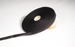Sergé coton noir