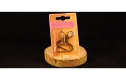 Mousqueton sangle 3cm or antique