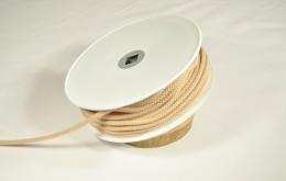 Cordon tricoté 4,5mm beige
