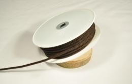 Cordon tricoté 4,5mm brun
