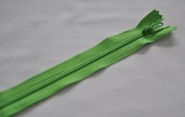 Fermeture éclair fine polyester non séparable gazon