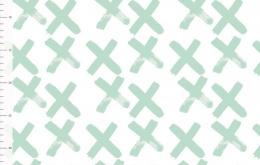 Jersey bio ElvelyckanDesign croix menthe