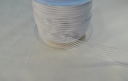 Grille élastique lingerie 25mm blanc