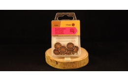 Boutons jeans 17mm Bronze