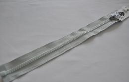 Fermeture éclair injectée n°5 séparable gris clair