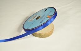 Ruban satin bleu vif 24