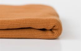 Bord-côte uni brun cathay