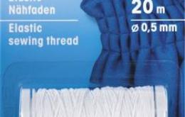 Fil élastique blanc 0,5mm