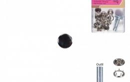 Pressions métal 11,5mm + outils