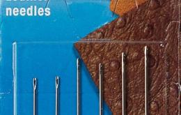 Aiguilles pour cuir N°3-7