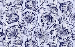 coton gaufré nid d'abeille Dandelion