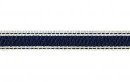 Ruban autoroute bleu marine 15mm