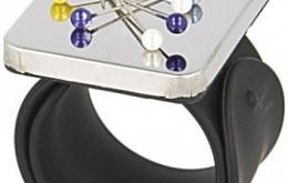 Bracelet porte-épingles aimanté