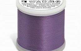 Fil à broder violet 1311 - 200 m