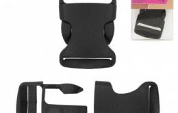 Boucle antiglisse 32mm noir