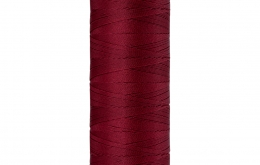 Fil à coudre rouge velours 130m Seraflex 106