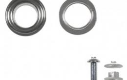 Oeillets en métal 15mm