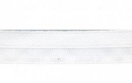 Ruban pré-plié extensible blanc