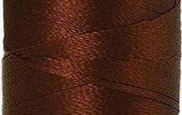 Fil à broder polysheen café 200 m coloris 1344