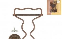 Boucle salopette bronze 35 mm