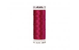 Fil à broder polysheen Bright Ruby 200 m coloris 2300