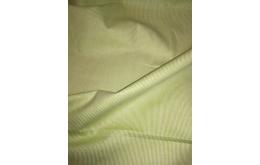 Coton ligné vert