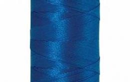 Fil à broder polysheen bleu azur 200 m coloris 3900