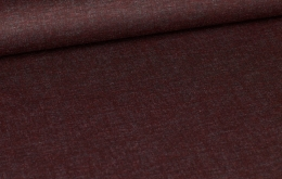 Polyester extensible bordeaux