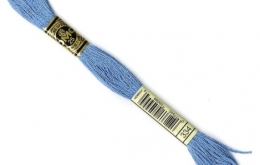Mouliné DMC bleu 334