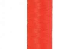 Fil à broder polysheen diable rouge 200 m coloris 1306