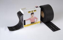 Perfobande noir 7cm (10-25-25-10mm)