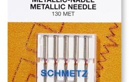 Aiguille machine à coudre métallic 80 marque Schmetz