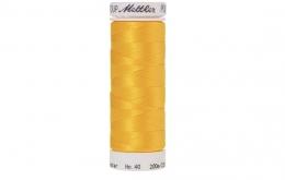 Fil à broder polysheen jaune 200 m coloris 311