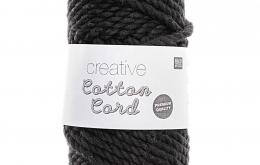 Corde coton noire