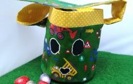 Kit à coudre Panier de Pâques vert